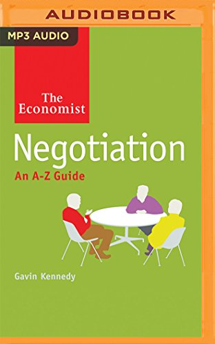 Negotiation: An A-Z Guide (MP3 CD): The Economist