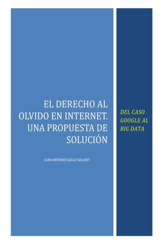 9781511412124: El Derecho al Olvido en Internet: Del caso Google al Big Data (Spanish Edition)