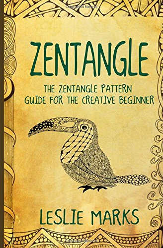 9781511438803: Zentangle: The Zentangle Pattern Guide For The Creative Beginner