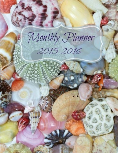 9781511447072: Monthly Planner 2015 to 2016
