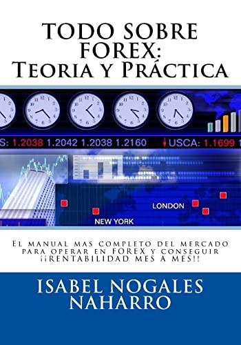 9781511459846: TODO SOBRE FOREX: Teoría y Práctica: El manual mas completo del mercado para operar en FOREX y conseguir ¡¡ RENTABILIDAD MES A MES!! (Spanish Edition)