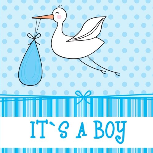 9781511475716: It's a Boy: Baby Book and Baby Scrapbook for Baby's First Year