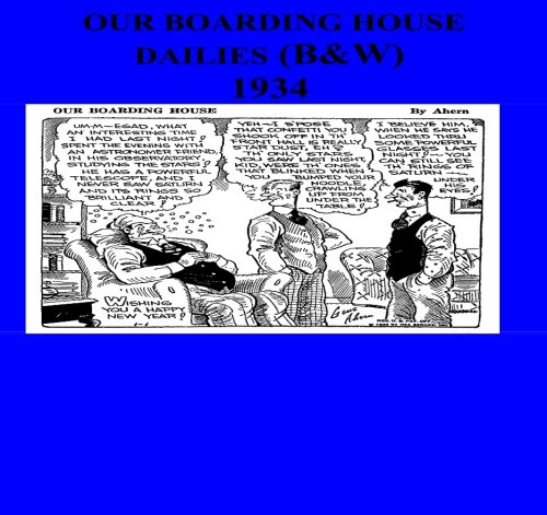 9781511478335: Our Boarding House Dailies (B&W) 1934
