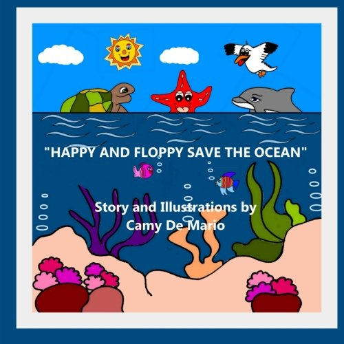 9781511504164: Happy and Floppy Save The Ocean (The World of Happy)