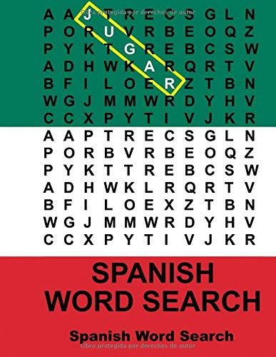 9781511504836: Spanish Word Search (Spanish Edition)