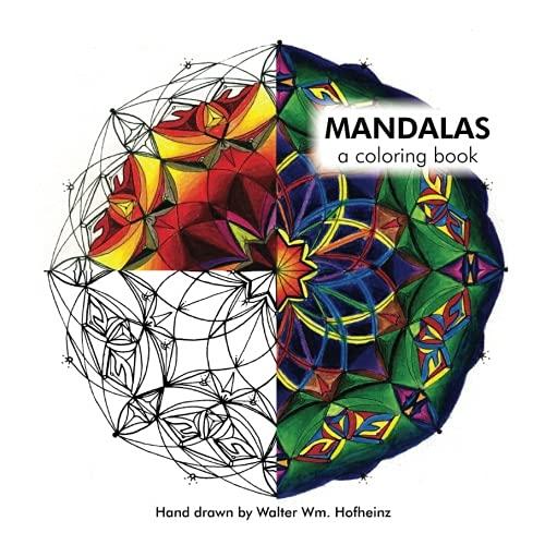 9781511532655: Mandalas: A Coloring Book