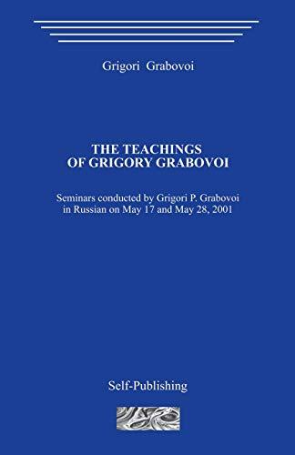 9781511534949: The Teachings of Grigori Grabovoi