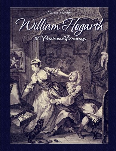 9781511549400: William Hogarth: 80 Prints and Drawings