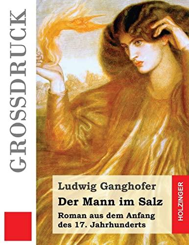 9781511551540: Der Mann im Salz (Großdruck): Roman aus dem Anfang des 17. Jahrhunderts