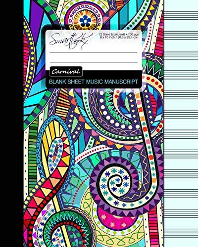 9781511566032 Blank Sheet Music Music Manuscript Paper Staff