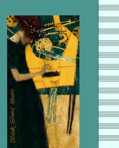 9781511567084: Blank Sheet Music: Music Manuscript Paper / Staff Paper / Musicians Notebook [ Book Bound (Perfect Binding) * 12 Stave * 100 pages * Large * Klimt ] (Composition Books - Music Manuscript Paper)