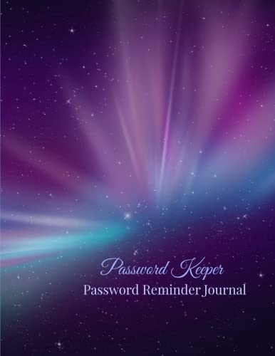 9781511584234: Password Keeper: Password Reminder Journal (Extra Large Password Journals-More Room to Write) (Volume 12)