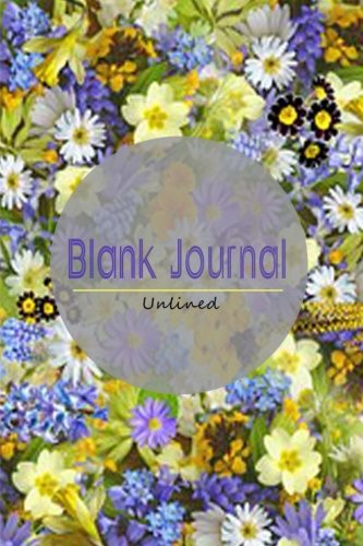 9781511588140: Blank Journal Unlined: 100 Pages 6