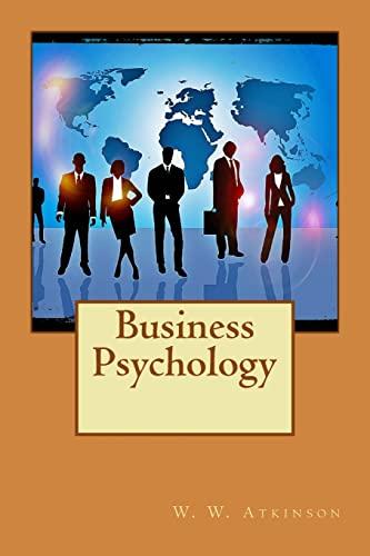 9781511591461: Business Psychology