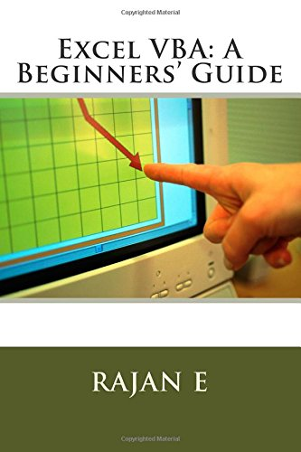9781511592390: Excel VBA: A Beginners' Guide