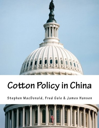 9781511601498: Cotton Policy in China