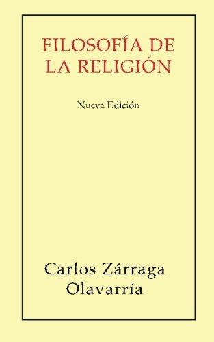 9781511609913: Filosofia de la religion.: Nueva edicion (Spanish Edition)