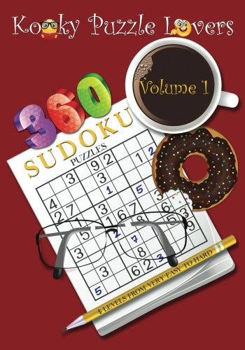 9781511611794: Sudoku Puzzle Book, Volume 1: 360 Puzzles with 4 difficulty levels (very easy to hard)