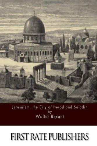 9781511612807: Jerusalem, the City of Herod and Saladin