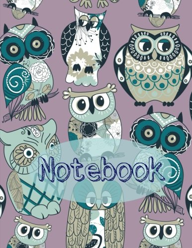 9781511617093: Notebook (Extra Large Owl Notebooks for School) (Volume 1)