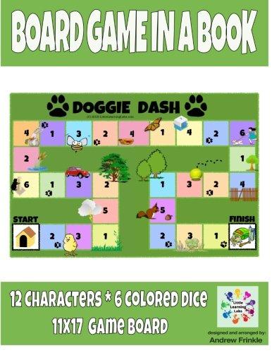 9781511618762: Board Game in a Book - Doggie Dash (Volume 1)