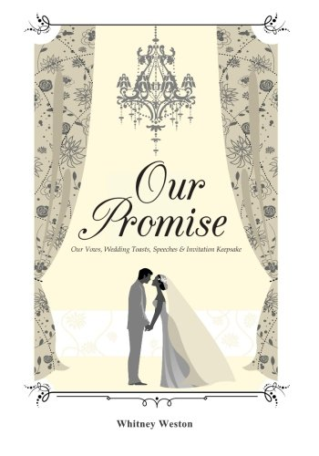 9781511619097: Our Promise: Our Vows, Wedding Toasts, Speeches & Invitation Keepsake
