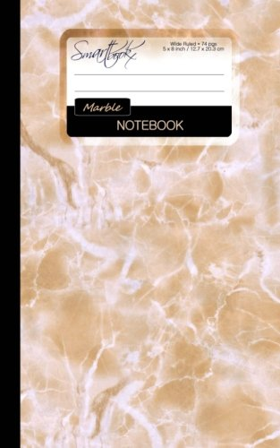 9781511624480: Marble Notebook: Small Notebook for School / Teacher / Office / Student [ Perfect Bound * 5 x 8 inch * Color ] (Contemporary Designs)