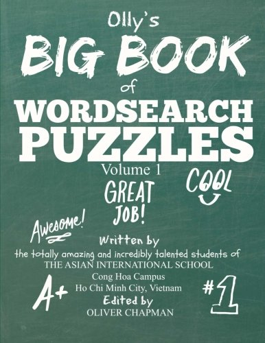 9781511634250: Olly's Big Book of Wordsearch Puzzles: Volume 1