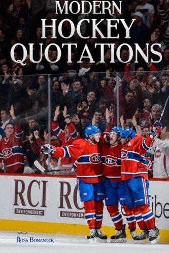 Modern Hockey Quotations: Bonander, Ross