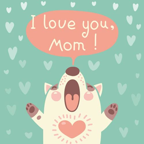 9781511640879: I Love You Mom: 66 Blank Love Coupons - Black and White