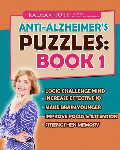 9781511660181: Anti-Alzheimer's Puzzles: Book 1: Brain Fitness Bootcamp