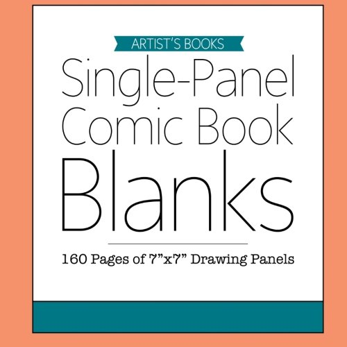 9781511662734: Single-Panel Comic Book Blanks: 195 Pages of 7
