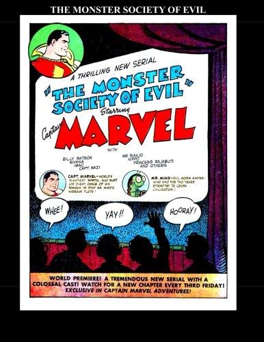 9781511666190: The Monster Society of Evil: Starring: Captain Marvel