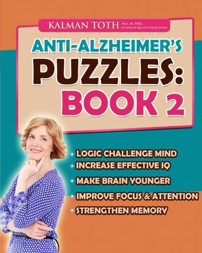 9781511673662: Anti-Alzheimer's Puzzles: Book 2: Brain Fitness Bootcamp