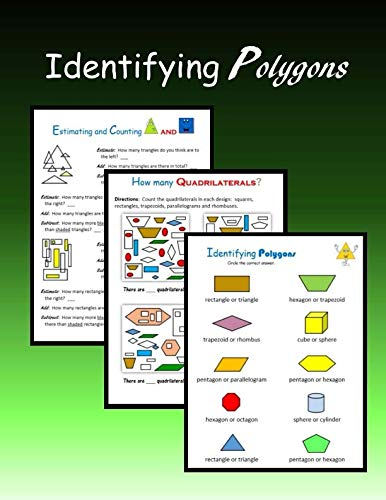 9781511676168: Identifying Polygons: Plane and Solid Figures