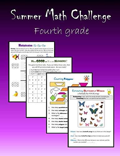 9781511676779: Summer Math Challenge: Fourth grade