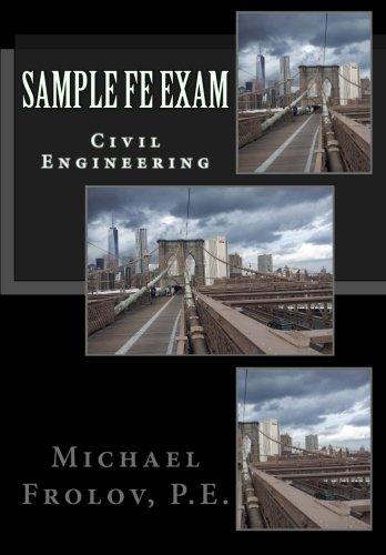 9781511676847: Sample FE Exam: Civil Engineering