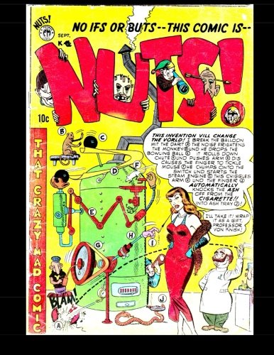 9781511677448: Nuts #4: That Crazy Mad Comic! 1954