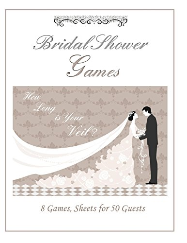 9781511689892: 8 Games, Sheets for 50 People: Bridal Shower Games