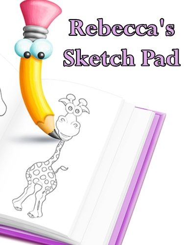 9781511697040: Rebecca's Sketch Pad: 50 Blank Pages in a Library Quality Bound Book to Draw Anything That Comes To Mind