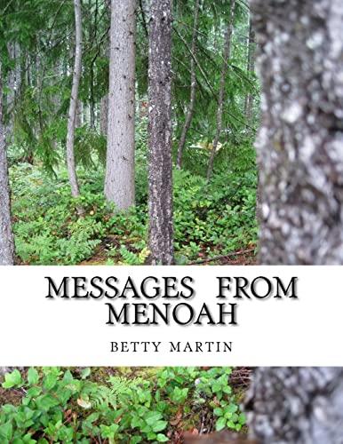 9781511712477: Messages From Menoah: Spiritual Self Help