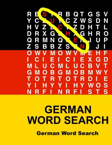 9781511716192: German Word Search (German Edition)