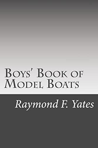 9781511717700: Boys' Book of Model Boats