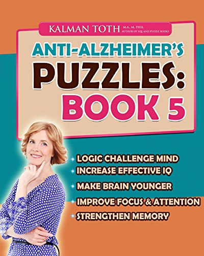 9781511738064: Anti-Alzheimer's Puzzles: Book 5: Brain Fitness Bootcamp