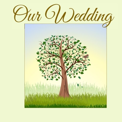 9781511743259: Our Wedding: Guest Book with Signing Leaves