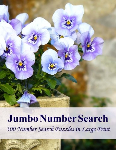 9781511750776: Jumbo Number Search: 300 Number Search Puzzles in Large Print