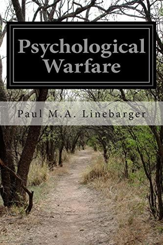 9781511767644: Psychological Warfare