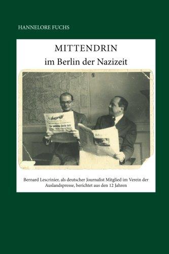 9781511779067: Mittendrin: im Berlin der Nazizeit