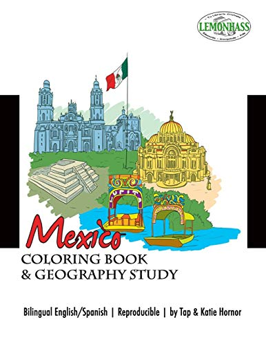 Mexico: Coloring Book & Geography Study, Libro: Hornor, Katie