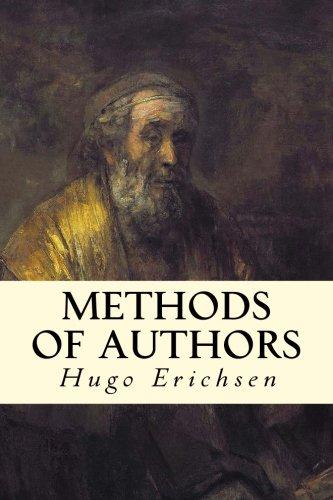 9781511787543: Methods of Authors